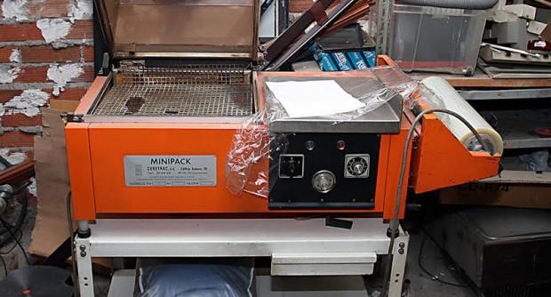 retractiladora minipack fm 75